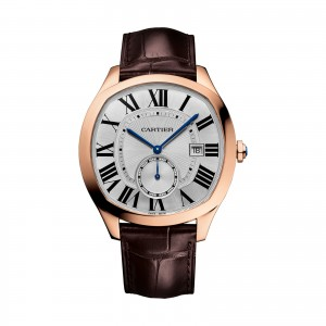 cartier drive heren zilver 40mm horloge