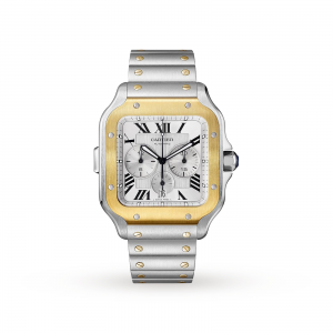 Cartier Santos heren zilver 43mm horloge