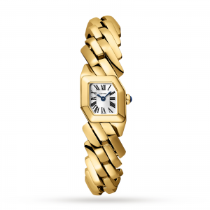 cartier maillon dames zilver 17mm horloge