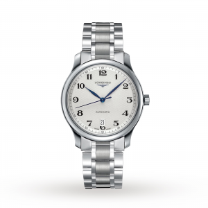 longines master collection heren zilver 39mm horloge