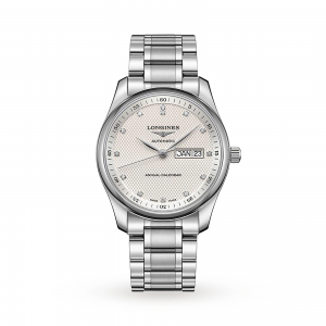 longines master collection heren zilver 40mm horloge