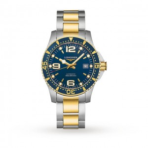 longines hydroconquest heren blauw 41mm horloge