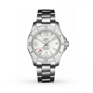 Breitling Superocean dames wit 36mm horloge