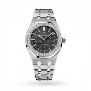 audemars piguet royal oak dames zwart 37mm horloge