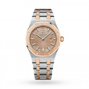 audemars piguet royal oak dames zwart 33mm horloge