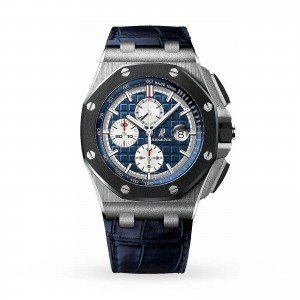 audemars piguet royal oak offshore heren blauw 44mm horloge