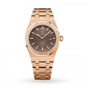 Audemars Piguet Royal Oak dames bruin 33mm horloge