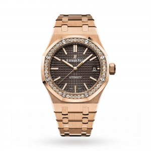 Audemars Piguet Royal Oak dames bruin 37mm horloge
