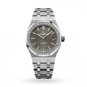 audemars piguet royal oak dames grijs 37mm horloge