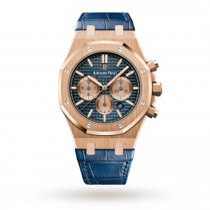 audemars piguet royal oak heren blauw 41mm horloge