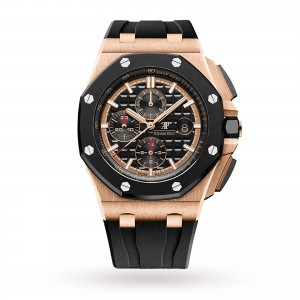 audemars piguet royal oak offshore heren zwart 44mm horloge