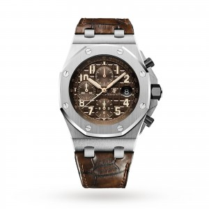 audemars piguet royal oak offshore heren bruin 42mm horloge
