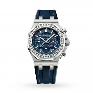audemars piguet royal oak offshore dames blauw 37mm horloge