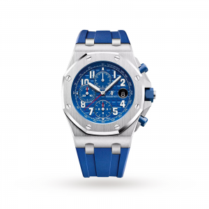 audemars piguet royal oak offshore heren blauw 42mm horloge