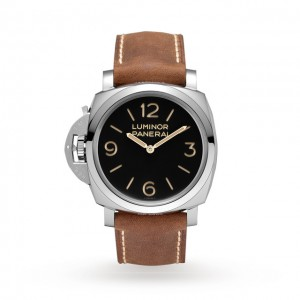 panerai luminor heren zwart 47mm horloge
