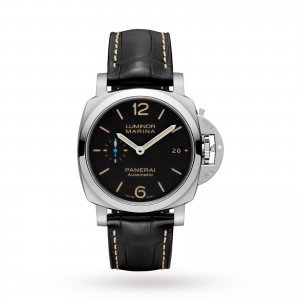 panerai luminor heren zwart 42mm horloge