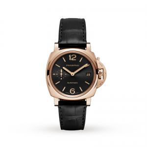 panerai luminor unisex zwart 38mm horloge