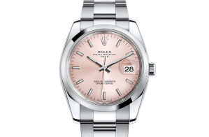 Rolex Date Oyster 34 mm Oystersteel 115200-0005