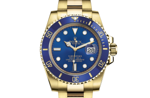 Rolex Submariner Oyster 40 mm geelgoud 116618lb-0003