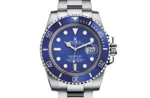 Rolex Submariner Oyster 40 mm witgoud 116619lb-0001