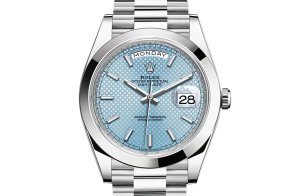 Rolex Day-Date Oyster 40 mm platina 228206-0004