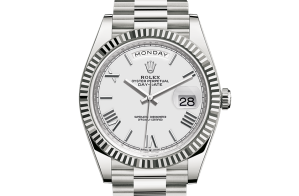 Rolex Day-Date Oyster 40 mm witgoud 228239-0046