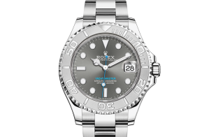 Rolex Yacht-Master Oyster 37 mm Oystersteel-staal en platina 268622-0002