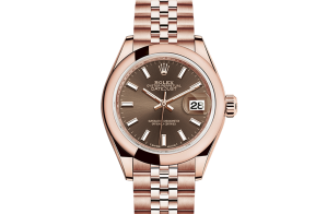 Rolex Lady-Datejust Oyster 28 mm Everose goud 279165-0008