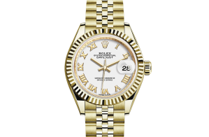 Rolex Lady-Datejust Oyster 28 mm geelgoud 279178-0030